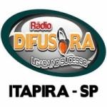 Logo da emissora Rádio Difusora Itapira