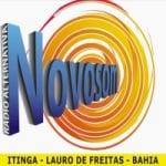 Logo da emissora Rádio Alternativa Novo Som