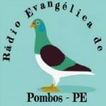 Logo da emissora Rádio Evangélica de Pombos