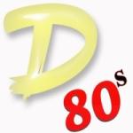 Logo da emissora 1 D 80s