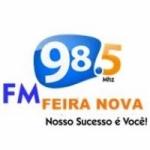 Logo da emissora FM Feira Nova