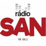 Logo da emissora Rádio San 106.3 FM