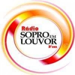 Logo da emissora Sopro em Louvor FM