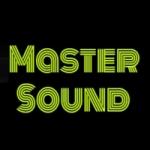 Logo da emissora Rádio Master Sound