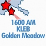 Logo da emissora Radio KLEB The Rajun' Cajun 1600 AM