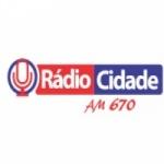 Logo da emissora Rádio Cidade 670 AM 95.9 FM