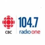Logo da emissora Radio CBC - Radio One 104.7 FM
