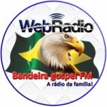 Logo da emissora Web Rádio Bandeira Gospel FM