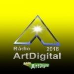 Logo da emissora Rádio Artdigital
