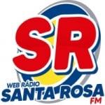 Logo da emissora Santa Rosa FM