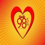 Logo da emissora Radio 98.5 FM