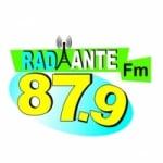 Logo da emissora Rádio Radiante 87.9 FM