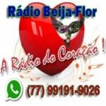 Logo da emissora Rádio Beija Flor FM