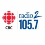 Logo da emissora Radio CBC - Radio 2 Pacific Time 105.7 FM