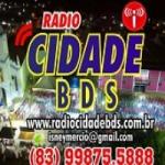Logo da emissora Rádio Cidade BDS