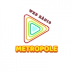 Logo da emissora Rádio Metrópole