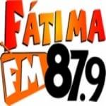 Logo da emissora Rádio Fátima 87.9 FM