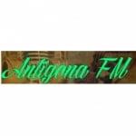 Logo da emissora Antigona FM