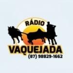 Logo da emissora Rádio Vaquejada