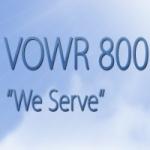 Logo da emissora Radio VOWR 800 AM