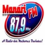 Logo da emissora Rádio Manari 87.9 FM