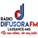 Logo da emissora Difusora Lassance FM