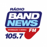 Logo da emissora Rádio BandNews 105.7 FM