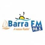 Logo da emissora Rádio Barra 98.5 FM