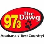 Logo da emissora Radio KMDL The Dawg 97.3 FM