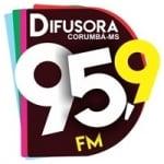 Logo da emissora Radio Difusora 95.9 FM