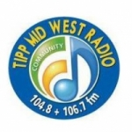 Logo da emissora Tipp Mid West Radio 104.8 FM