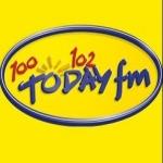 Logo da emissora Today FM 100