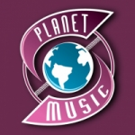 Logo da emissora Rádio Planet Music Rock