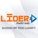 Logo da emissora Rádio Web Líder
