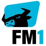 Logo da emissora Radio FM1 92.9 FM