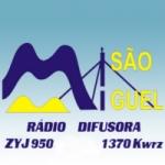 Logo da emissora Rádio Difusora de São Miguel 1370 AM