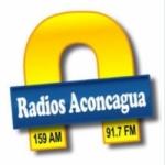 Logo da emissora Radio Aconcagua 91.7 FM