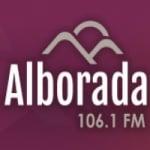 Logo da emissora Radio Alborada 107.7 FM