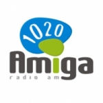 Logo da emissora Radio Amiga 1020 AM