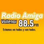 Logo da emissora Radio Amiga 88.5 FM