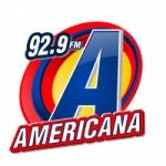 Logo da emissora Rádio Americana 92.5 FM