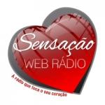 Logo da emissora Sensação Web Radio