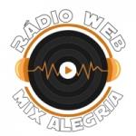 Logo da emissora Rádio Web Mix Alegria