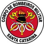 Logo da emissora Rádio Bombeiro - Curitibanos SC