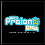 Logo da emissora Praiana FM