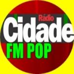 Logo da emissora Cidade FM Pop