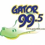 Logo da emissora Radio KNGT Gator 99.5 FM