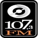 Logo da emissora Rádio 107 FM