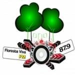 Logo da emissora Rádio Floresta Viva 87.9 FM