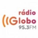 Logo da emissora Rádio Globo 95.3 FM Joinville